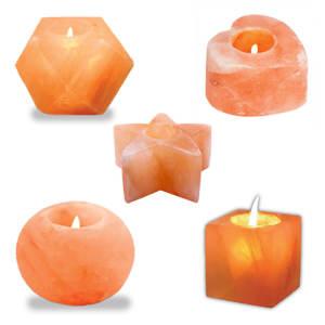 شمعدان سنگ نمک